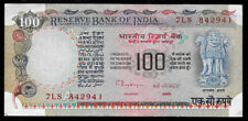 World Paper Money - India 100 Rupees ND 1979 P86g Letter A @ Crisp XF Punched