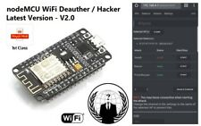 NodeMCU WiFi Jammer, Deauth & Hacking Tool - WiFi Deauther & Cloner - ESP8266