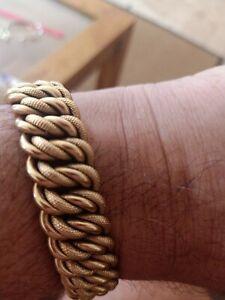 18ct solid gold bracelet(exquisite)hallmarked