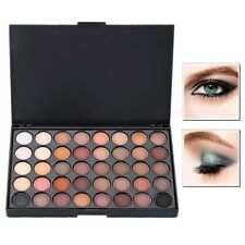 40 Farben Neutral Lidschatten Palette Eyeshadow Matt Schimmer Augen Makeup Set