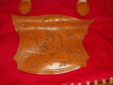 RED WINNIE THE POOH DISNEY BAG PURSE TOTE tiger piglet purse leather