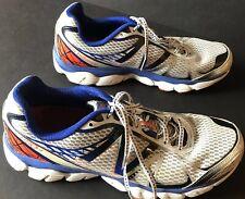 New Balance 880v4 Mens Sz 12 Athletic Running Shoes White Blue Orange Black
