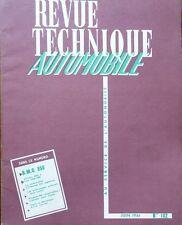 Revue technique BMC 850 AUSTIN MORRIS SEVEN RTA 182 1961 CITROEN AMI 6 FIAT 1300