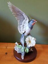 """Homco Home Interiors, """"Morning flight"""" porcelain bird figurine"""