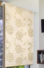 seitenzugrollo avec déco 60x170cm Brise-vue Treuil Store Store de fenêtre