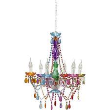 Hängeleuchte Kronleuchter Starlight Rainbow 6-Arm bunt Kare Design TOP