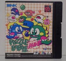 Neo Geo Pocket Color Gioco Puzzle Bobble Mini ID: NEOP0020