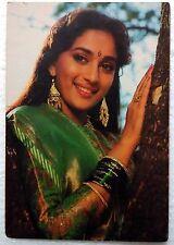 Bollywood Actor Star - Madhuri Dixit - Rare Old Post card Postcard