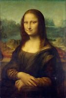 La Joconde / Mona Lisa (Léonard de Vinci) - Poster métal - art mural