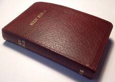 Holy Bible, King James Version, Trinitarian Bible Society, c1980, Royal Ruby