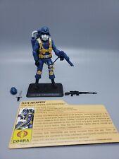 2007 Hasbro G.I. Joe Cobra Air Trooper (V1) Legions Pack Complete w/ Filecard