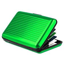 Block Aluminium Holder Security Wallet Bank Card Credit Card Hard Case Box