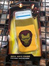 Iron Man iSox MP3 Case Nickelodeon Player Yellow  NEW!