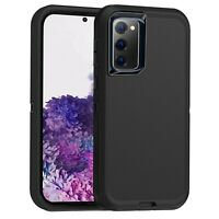 For Samsung Galaxy S20 FE Case Rugged Rubber Shockproof Heavy Duty Armor Cover