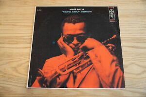 RARE Miles Davis 'Round About Midnight original deep groove 6-eye mono LP NM-