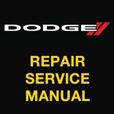 Dodge Grand Caravan 2008 2009 2010 Factory Repair Service Workshop Manual