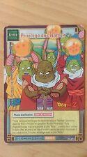 Cartes Dragon Ball Z Privilège Des Namek D-474