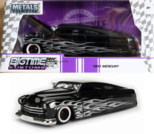 1951 ford mercury Purple Black Flames violeta negro 1:24 jada Toys 99061