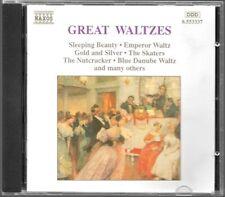 ALBUM CD / GREAT WALTZES / NAXOS