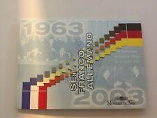 Deutschland / Frankreich 2003 Euro KMS Kursmünzensatz 40 Jahre Élysée Vertrag