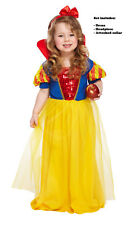 Snow Princess Girls Dress up Costume 2 3 4
