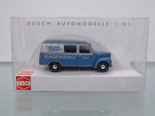 Busch 51289 - H0 1:87 - Framo Autobus SEMI, Möve BICICLETTE Mühlhausen - NUOVO