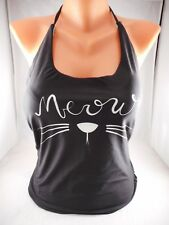 New Womens High Dive Coastal Character One-Piece Swimsuit in Meow Cat sz L