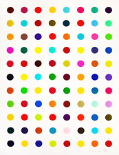 Damien Hirst Spot Painting, Print Poster