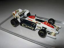 1:43 Toleman TG184 A. Senna 1984 SMTS handbuilt modelcar in showcase
