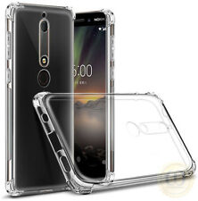 For Nokia 1/2/3/5/6/7/8 Case Ultra Slim Clear TPU Shockproof Protective Cover