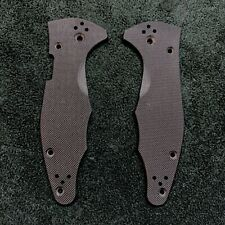 Spyderco Yojimbo 2 Scales ~ Authentic Black G-10 Blk