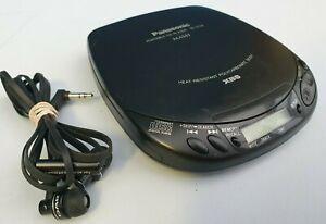 Panasonic XBS Portable CD Player Model SL-S138 with Headphones