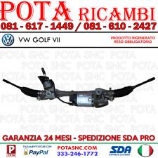 SCATOLA GUIDA - ELETTROMECCANICA SERVOSTERZO VW GOLF VII