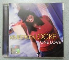Kimberley Locke One Love CD 8th World Wonder Made in the E.U. American Idol rare