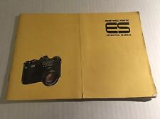 Retro Vintage Honeywell Pentax ES 35mm Film SLR Camera - User Instruction Manual