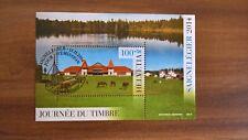 Schweiz, Block 58, Tag der Briefmarke - Saignelégier, Journée du Timbre, ET/FD