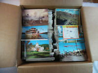 Used & Unused Lot of 50+ USA Vintage Postcards People Places Sites Things 99-2A