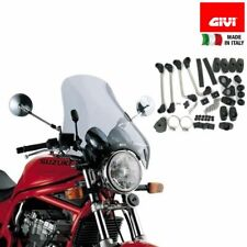 FACO 23426 WINDSCREEN WITH BRACKETS CHROME ROYAL ENFIELD BULLET 500 2003 2018