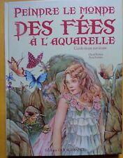 § livre peindre le monde des fées à l'aquarelle - David Riché Anna Franklin