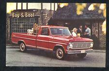 1967 Ford F-100 Ranger Pickup Truck Car Dealer Advertising Vintage Postcard