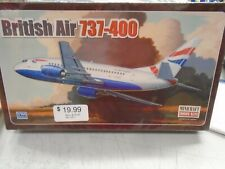Minicraft #14517 BRITISH AIR 737-400 1/144 Scale Model Kit NEW IN Sealed BOX