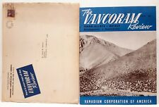 The Vancorm Review Vanadiom Corporation Of America 1948 Mining Metallurgy