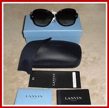 LAST ONE! MSRP $400 LANVIN SLN510S MADE IN ITALY TORTOISESHELL SQUARE SUNGLASSES