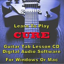 Cure (The) Guitar Tab Lesson Cd Software - 105 Songs
