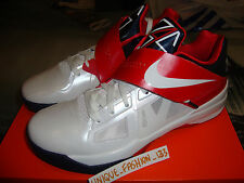 2012 NIKE KEVIN DURANT KD IV 4 OLYMPIC US 10.5 UK 9.5 44.5 TEAM USA GOLD MEDAL