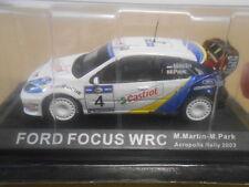FORD FOCUS WRC RALLY ACROPOLIS 2003 MARTIN ALTAYA IXO 1:43