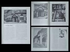 LA CONSTRUCTION MODERNE n°8 1926  PARIS, RESTAURANT CHEVAL PIE, AUBERGE, DELOLME