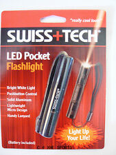 SWISS+TECH Key Ring LED Pocket Flashlight Tool ST50069 Aussie Seller