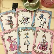 Alice In Wonderland Cards In Party Decorations For Sale Ebay