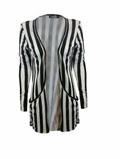 Long Sleeve Viscose Striped Jumpers & Cardigans for Women